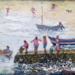 Launching the Boat by Sue Atkinson