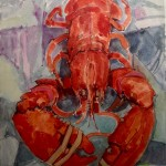 Lobster Study I by Ian Burke