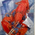 Lobster Study II by Ian Burke