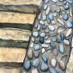 Lockdown Meditation, Staithes III by Lucy Wilson