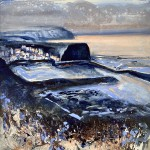 Looking back at Staithes by Chantal Barnes