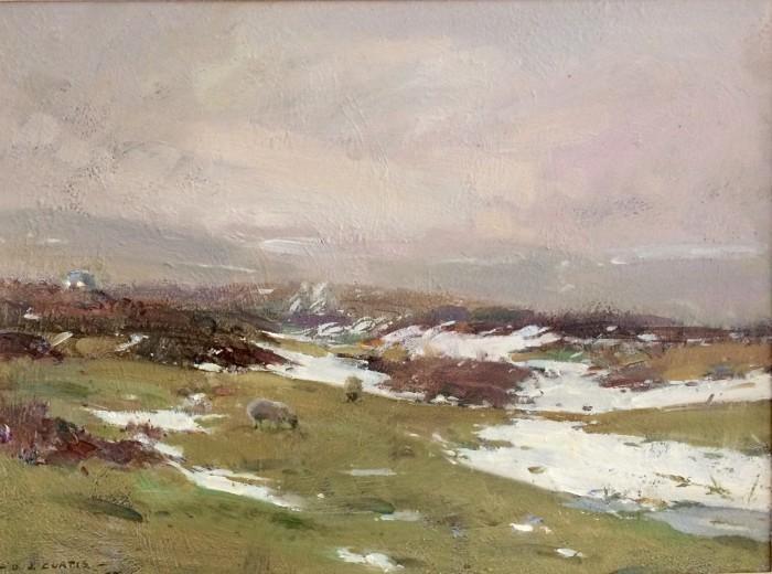 Melting Snow North York Moors By David Curtis Roi Rsma