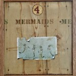 Staithes Chapel panels Series: Four Mermaids by Paul Czainski