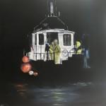 Night Fishing by Ian Burdall