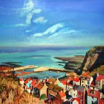 Out over Staithes by Mark Sofilas
