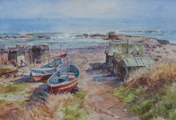 Port Mulgrave by Barry Peckham RSMA ROI SEA