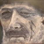 Portrait of a Fisherman by Ian Burdall