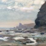 Rounding the Rocks to Port Mulgrave by David Curtis ROI RSMA