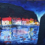 Staithes Lights by Richard Barnes