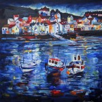 Staithes Harbour by Richard Barnes