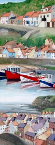 Sauntering in Staithes by Lucy Wilson