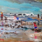 Shallows, Runswick Bay by Sue Atkinson