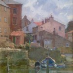 Shower Clouds over Staithes Beck by David Curtis