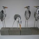 Herons by Gail Dooley