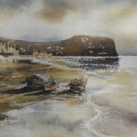Staithes Beach by Anne Ware
