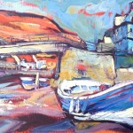 taithes Beck and Footbridge by Susan Isaac