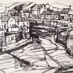 Staithes Beck from Cowbar by Ian Burke