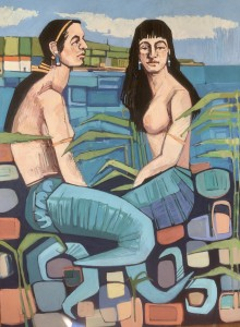 Staithes Mermaids I