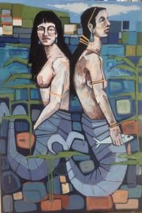 Staithes Mermaids II