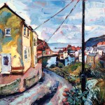 Staithes from Cowbar Lane by Susan Isaac