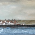 Staithes from the Sea by Ian Burdall