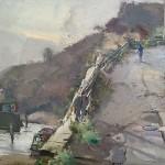 Steep Rise to Cowbar by David Curtis ROI RSMA
