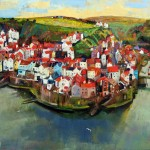 Still Staithes by Mark Sofilas