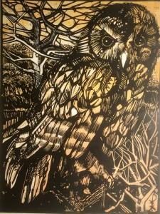 Stonegate Owl Orange