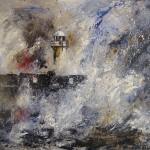 Storm, South Gare by Sue Nichol