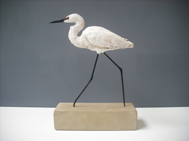 Striding Egret by Gail Dooley