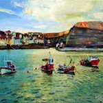 Sun Up Staithes by Mark Sofilas
