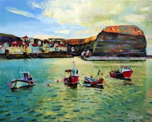 Sun Up Staithes