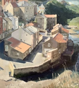 Sunlit Rooftops, Staithes Beck