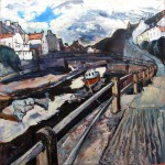 Staithes Beck from North Side by Susan Isaac