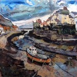 Staithes from the Beck by Susan Isaac