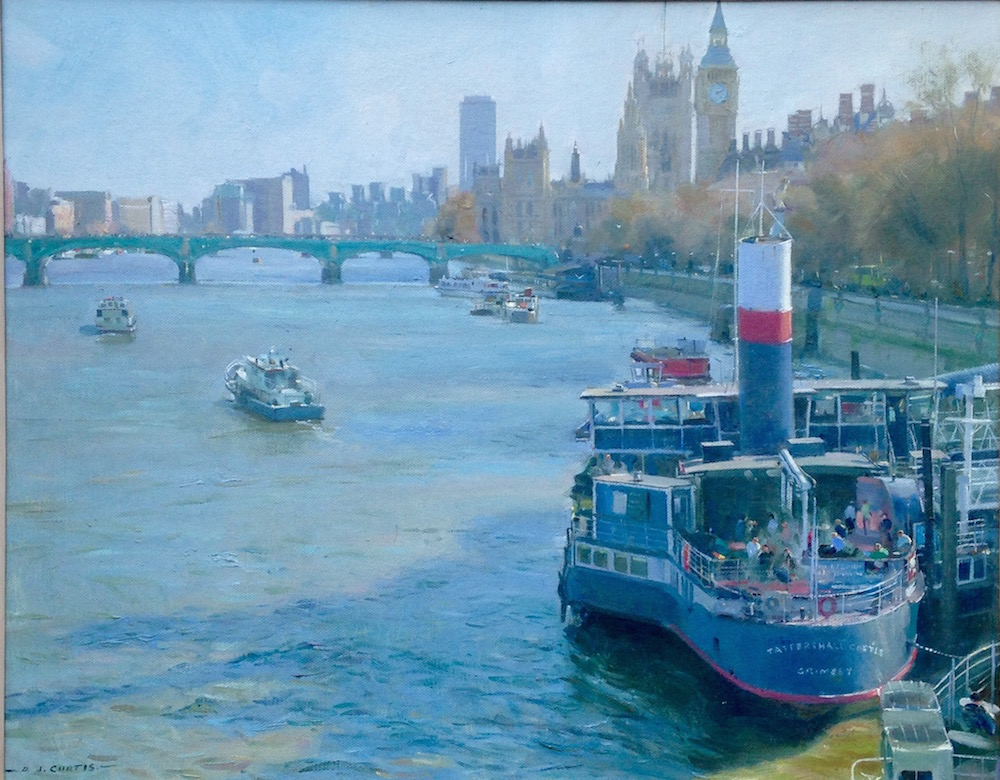 Tattershall Castle, London by David Curtis
