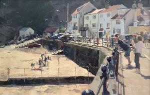 The Beach at Staithes by Lynton Parmar Hemsley