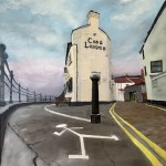 The Cod at Staithes by Ian Burdall