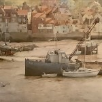 The Esk at Whitby by David Curtis ROI RSMA