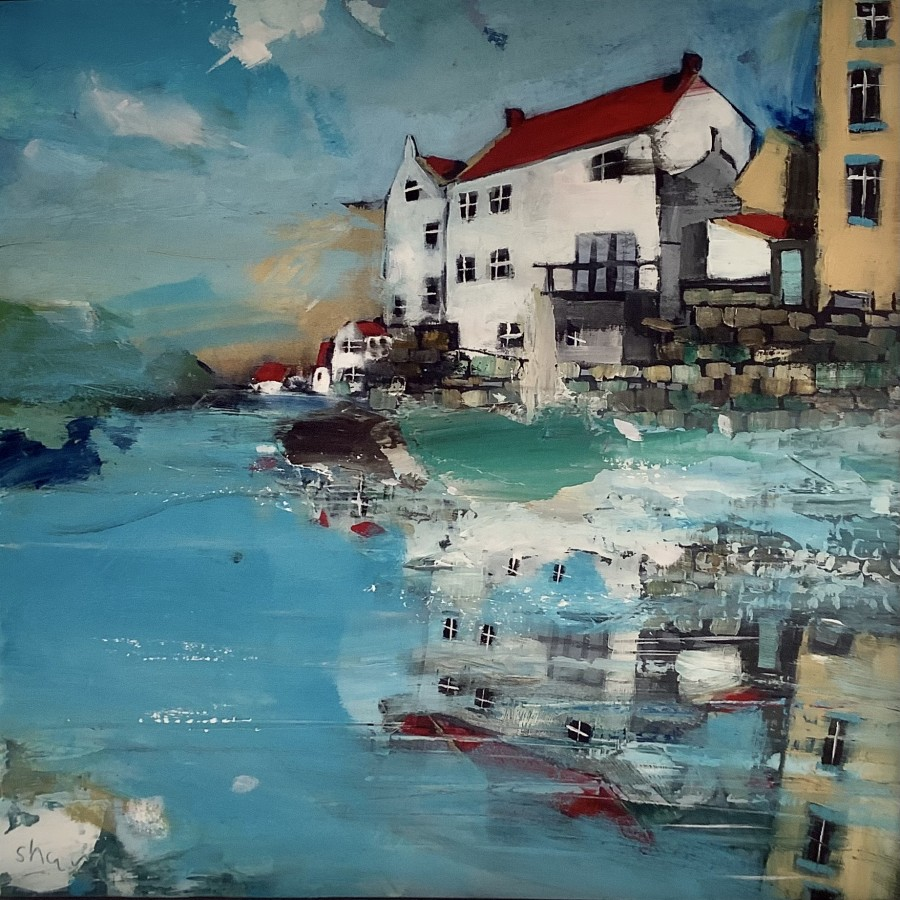 Towards the Harbour, Staithes by Rob Shaw