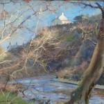 Tracery of Branches, the Glade, Staithes by David Curtis ROI RSMA