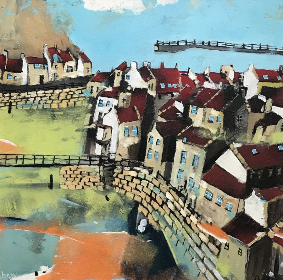 Vibrant Staithes by Rob Shaw