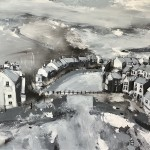View to the Bridge, Staithes by Rob Shaw