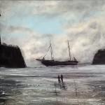Whitby Wreck by Ian Burdall
