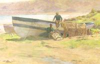 Fishermen Ashore by John Spence Ingall