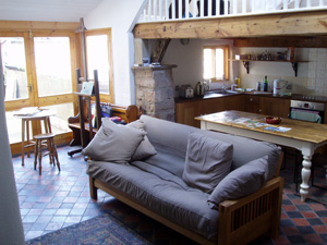 Laura Knight Studio - living area