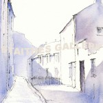 Staithes Shadows by Mark Wilde