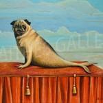 Mer-pug by Paul Czainski