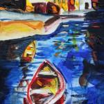 Boats at Dusk by Richard Barnes